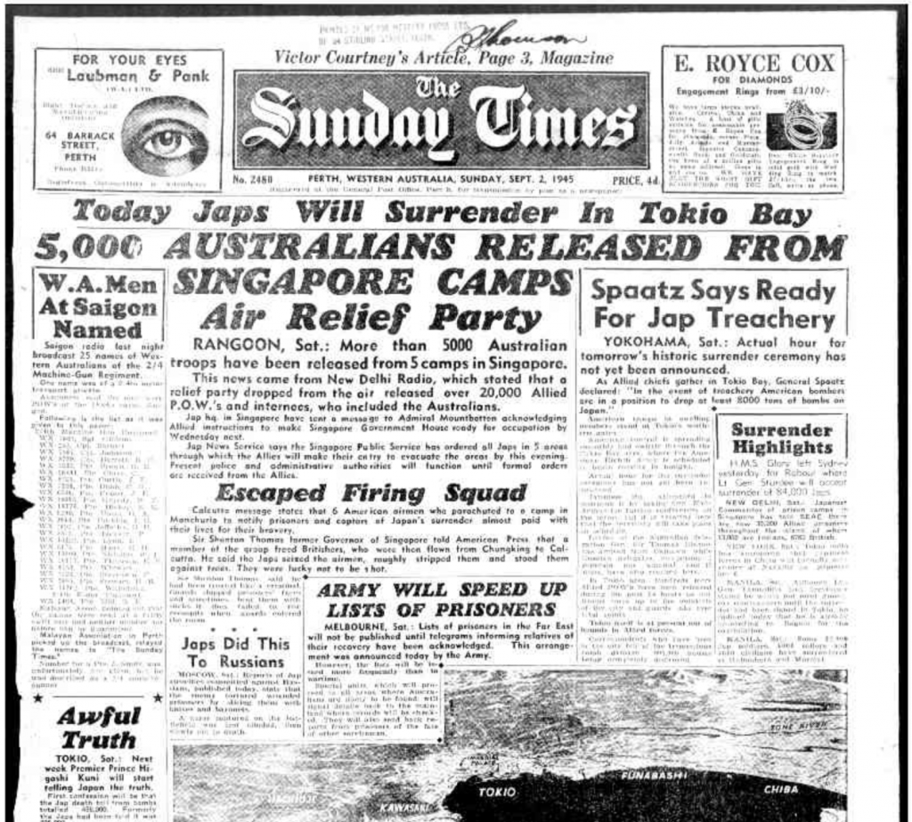 Sunday Times - September 2nd 1945