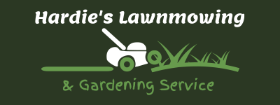 Hardie's Lawnmowing Website Logo 1